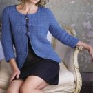 Y621 Crochet PATTERN ONLY Ladies Transitional Jacket Pattern Sized to 4XL