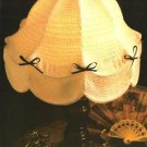 X979 Crochet PATTERN ONLY Parlor Lamp Shade Victorian Pattern