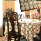 X337 Crochet PATTERN ONLY Elegant Tablecloth & Placemat Pattern
