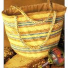X971 Crochet PATTERN ONLY Carry All Tote Bag