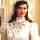 X116 Crochet PATTERN ONLY Exquisite Crochet Wedding Gown Collar Pattern