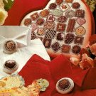 Y670 Cross Stitch PATTERN ONLY Valentine Box of Candy and Buttons Charts