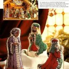Y664 Cross Stitch PATTERN ONLY Elegant Nativity Figures Three Kings Charts