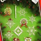Y616 Crochet PATTERN Book ONLY Christmas Lace to Crochet Ornaments Snowflakes