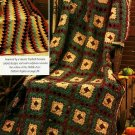 Y608 Crochet PATTERN ONLY Heather Print Granny & Kilim-Inspired Afghan Patterns