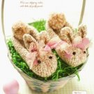 Y467 Crochet PATTERN ONLY Sweet Bunny Rabbit Slippers Sizes from 12 mo to 4 year