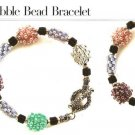 Y344 Bead PATTERN ONLY Bubble Bead Bracelet Pattern
