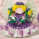 Y135 Crochet PATTERN ONLY Easter Angel Cookie Cutter Ornament Doll