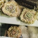 X669 Crochet PATTERN ONLY Ruffled Sachets 3 Shapes