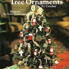 X403 Crochet PATTERN ONLY Tabletop Tree Ornaments to Crochet Miniature Christmas