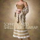 W006 Crochet PATTERN ONLY Sophisticated Shells Skirt & Wrap Patterns