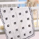 W176 Crochet PATTERN ONLY Dainty Roses Crib Blanket Pattern
