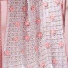 X184 Crochet PATTERN ONLY Flower Power Baby Blanket Pattern