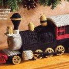 X349 Crochet PATTERN ONLY Toy Locomotive Train Pattern