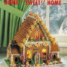 X917 Recipe/PATTERN ONLY Gingerbread House & Christmas Ornament Pattern