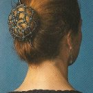 Y102 Bead PATTERN ONLY Net a Chignon Cover Bun Cover or Snood Pattern