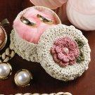 W264 Crochet PATTERN ONLY Little Mini Jewelry Box Pattern