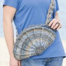 W382 Crochet PATTERN ONLY Shell Shape Bag Purse Pattern