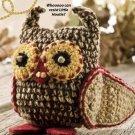 X802 Crochet PATTERN ONLY Little Hootie Owl Toy Pattern
