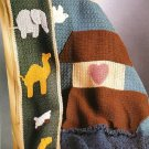 Y248 Crochet PATTERN ONLY Noah's Ark Blanket Afghan Patterns