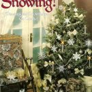 X218 Crochet PATTERN ONLY It's Snowing Dimensional Snowflake Christmas Ornaments