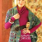 X220 Crochet PATTERN ONLY Woodsy Wrap Shawl Pattern