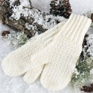 X610 Crochet PATTERN ONLY Soft & Warm Adult Size Mittens Pattern