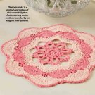 W347 Crochet PATTERN ONLY Sunset Doily Pattern