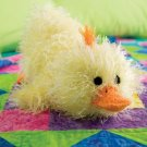 W263 Crochet PATTERN ONLY Too Cute Just Ducky Toy Duck Doll Pattern