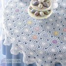 W204 Crochet PATTERN ONLY Lacy Floral Tablecloth Table Cloth Pattern