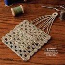 W316 Crochet PATTERN ONLY Miser's Purse Pattern