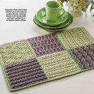 W357 Crochet PATTERN ONLY High Tea Table Mat Place Mat Placemat Pattern