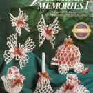 X555 Crochet PATTERN Book ONLY Victorian Memories I Christmas Ornament