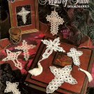 W074 Crochet PATTERN Book ONLY Marks of Faith Bookmarks Ornaments Patterns