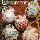 Y672 Crochet PATTERN Book ONLY Metallic Ornament Covers Christmas Ornaments
