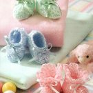 Y734 Crochet PATTERN ONLY Bootie Boutique 3 Sweet Baby Booties Patterns