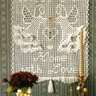 "Y233 Filet Crochet PATTERN ONLY ""Bless Our Home with Love"" Wall Hanging Pattern"