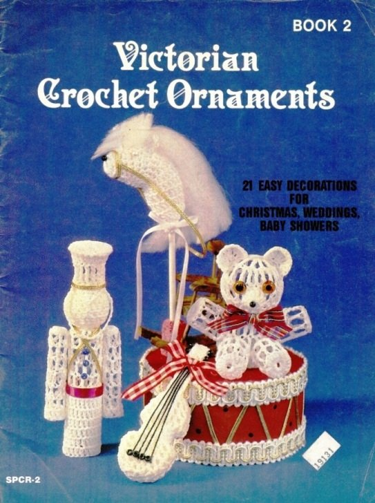 X677 Crochet PATTERN Book ONLY Victorian Crochet Ornaments Book 2 Christmas