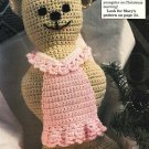 X178 Crochet PATTERN ONLY Honey Bear and Freddy Bear Doll Pattern