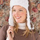 X515 Crochet PATTERN ONLY Lumberjack Hat Adult or Child Szes & Afghan Pattern