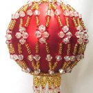 Y114 Bead PATTERN ONLY Beaded Windsor Christmas Ornament Cover