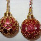 X188 Bead PATTERN ONLY Beaded Baby or Mini Christmas Ornament Cover No. 1