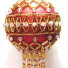 Y112 Bead PATTERN ONLY Beaded Sandringham Christmas Ornament Cover