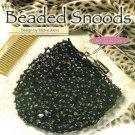 X535 Crochet PATTERN ONLY Beaded Snood Hair Bun Covers Pattern