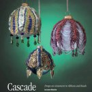 Y193 Bead PATTERN ONLY Beaded Cascade Christmas Ornament Cover