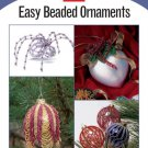 X860 Bead PATTERN Book ONLY Easy Beaded Ornaments Covers Christmas Rare Patterns