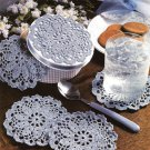 Y218 Crochet PATTERN ONLY Classic Coaster Set Pattern