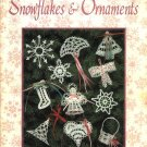 X614 Crochet PATTERN ONLY Snowflakes & Ornaments 35 Projects Christmas Angel