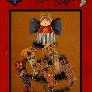 W076 Cross Stitch PATTERN ONLY Patriotic Stocking Stuffers Mini Ornaments