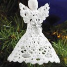 Y907 Crochet PATTERN ONLY Christmas Angel Ornament Pattern